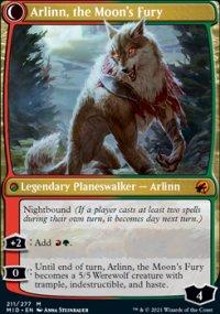 Arlinn, the Moon's Fury 1 - Innistrad: Midnight Hunt