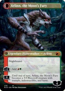 Arlinn, the Moon's Fury 2 - Innistrad: Midnight Hunt