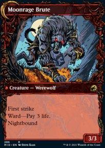 Moonrage Brute 2 - Innistrad: Midnight Hunt