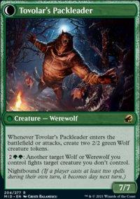 Tovolar's Packleader 1 - Innistrad: Midnight Hunt