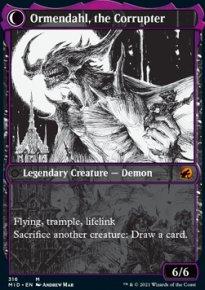 Ormendahl, the Corrupter 2 - Innistrad: Midnight Hunt