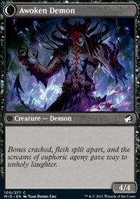 Awoken Demon - Innistrad: Midnight Hunt