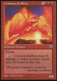 Crimson Hellkite - Mirage