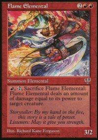 Flame Elemental - Mirage