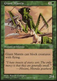 Giant Mantis - Mirage
