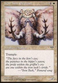 Iron Tusk Elephant - Mirage