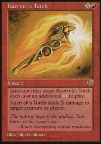 Kaervek's Torch - Mirage