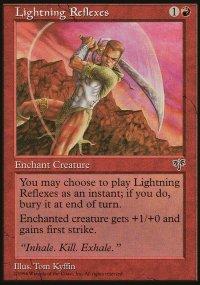 Lightning Reflexes - Mirage