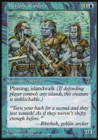 Merfolk Raiders - Mirage