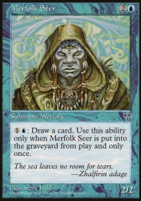 Merfolk Seer - Mirage