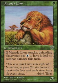 Mtenda Lion - Mirage
