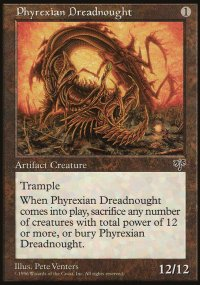 Phyrexian Dreadnought - Mirage