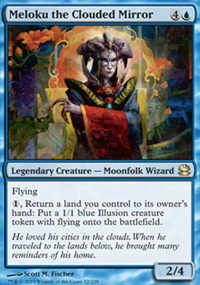 Meloku the Clouded Mirror - Modern Masters