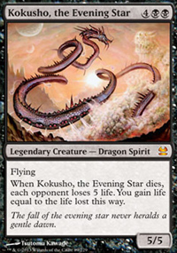 Kokusho, the Evening Star - Modern Masters