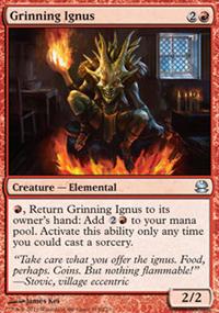 Grinning Ignus - Modern Masters
