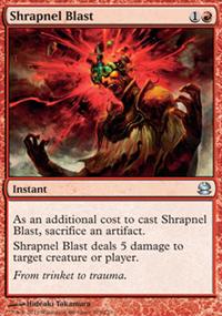 Shrapnel Blast - Modern Masters