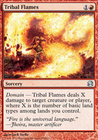 Tribal Flames - Modern Masters