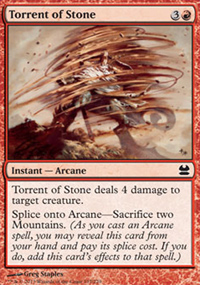 Torrent of Stone - Modern Masters