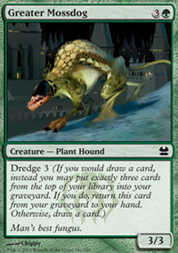 Greater Mossdog - Modern Masters