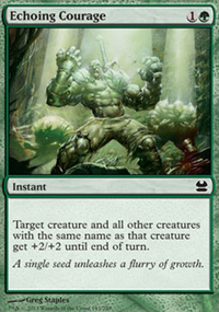 Echoing Courage - Modern Masters