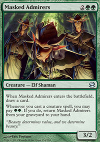 Masked Admirers - Modern Masters