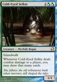 Cold-Eyed Selkie - Modern Masters