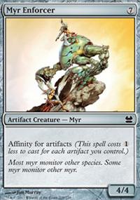 Myr Enforcer - Modern Masters