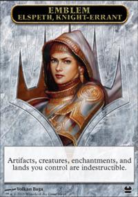 Emblem Elspeth, Knight-Errant - Modern Masters