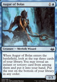 Augur of Bolas - Modern Masters 2017