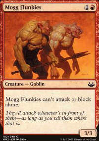 Mogg Flunkies - Modern Masters 2017