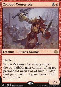 Zealous Conscripts - Modern Masters 2017