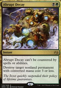 Abrupt Decay - Modern Masters 2017