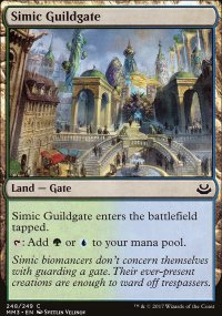 Simic Guildgate - Modern Masters 2017