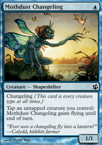 Mothdust Changeling - Morningtide