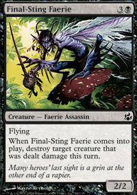 Final-Sting Faerie - Morningtide