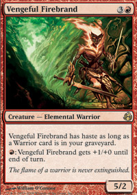 Vengeful Firebrand - Morningtide