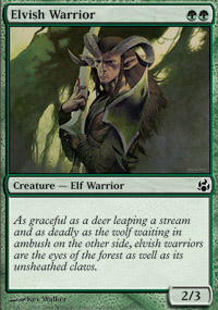 Elvish Warrior - Morningtide