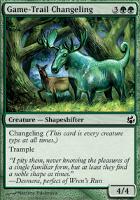 Game-Trail Changeling - Morningtide