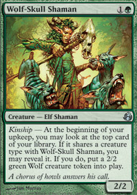 Wolf-Skull Shaman - Morningtide