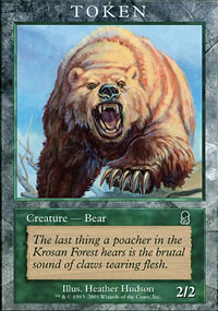 Bear 1 - Player Rewards Tokens