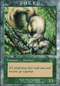 Squirrel - Player Rewards Tokens