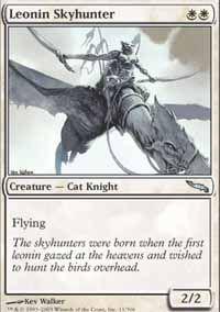 Leonin Skyhunter - Mirrodin