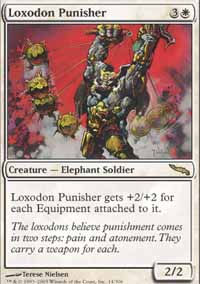 Loxodon Punisher - Mirrodin