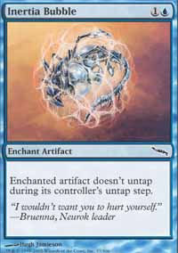 Inertia Bubble - Mirrodin