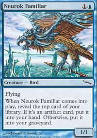 Neurok Familiar - Mirrodin
