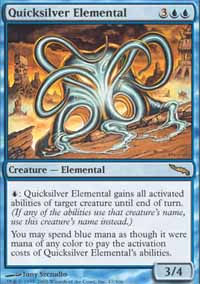 Quicksilver Elemental - Mirrodin
