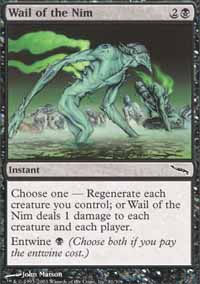 Wail of the Nim - Mirrodin