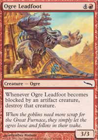 Ogre Leadfoot - Mirrodin