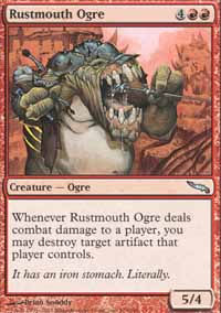 Rustmouth Ogre - Mirrodin