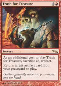 Trash for Treasure - Mirrodin